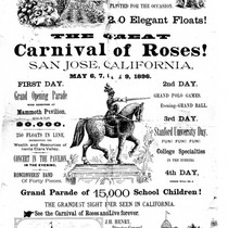 Advertisement 1896, Carnival of Roses