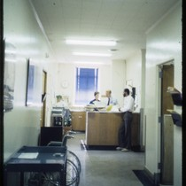 Three staff members at SFGH AIDS Clinic (2)