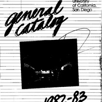 UC San Diego General Catalog, 1982-1983
