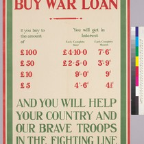 Buy War Loan: And you will help your country and our brave ...