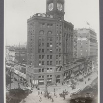 4032. Chronicle Building, San Francisco. [Before the earthquake and fire. At intersection ...