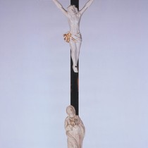 Crucifix owned by Jose Dario Arguello, acting Governor of Spanish California, ca. ...