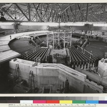 Berkeley campus. The bevatron, pictured in 1965 shortly before major modifications. The ...