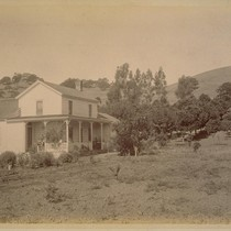 Caleb Carriger Residence, Orange Orchard One Mile Southwest from the Depot at ...