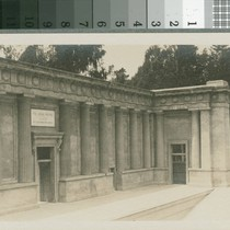 Stage of Greek Theater, 1912