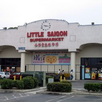 Little Saigon Supermarket on the corner of Bolsa and Brookhurst