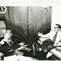 Henry Kissinger and President Nixon