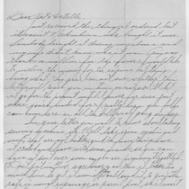 Letter, Camp Santa Anita, Arcadia, Calif. to Art and Estelle Ishigo