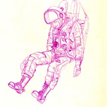 -kempcollectionimagespaceflight suits drawing
