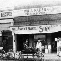 B. Schindler's Shoe Shop and Wallpaper Store in San Bernardino, CA