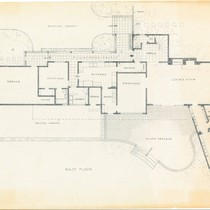 Thomas Mann House: first floor plan