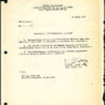 Announcement of organization and staff, 1950-03-27