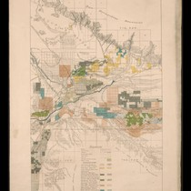 California State irrigation map: San Bernardino sheet, 1888