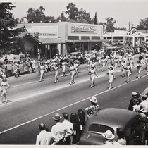 The 1947 Cherry Festival Parade, the Women's Band