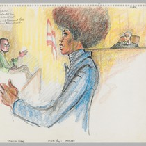 3/15/72 Angela Davis - Voir Dire - Potential Juror excused