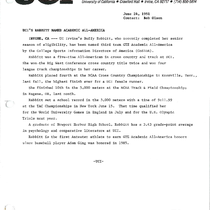 1990-1991 News releases