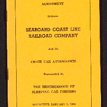 Agreement between Seaboard Coast Line Railroad Company and its chair car attendants ...