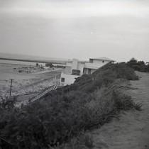 Corona Del Mar - Looking toward present main beach parking lot and ...