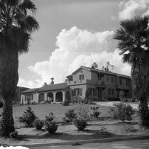 Photograph of a house on Ladera Lane and Mount Rubidoux Drive, Riverside, ...