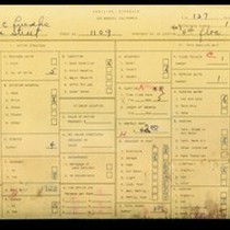 WPA household census for 1109 S LAKE STREET, Los Angeles