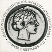 Bulletin of the Institute for Antiquity and Christianity, Number 4