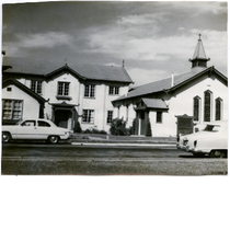 Episcopal Church of Our Savior, 8th and Harrison Streets, Oakland, c1953