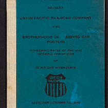 Agreement between the Union Pacific Railroad Company and Brotherhood of Sleeping Car ...