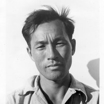 Manzanar, Calif.--Karl Yoneda, Block Leader at this War Relocation Authority center for ...