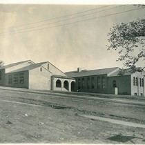 Las Flores School, Completed 1924, First Graduating Class Feb. 1927