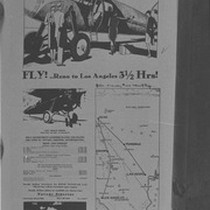 Ad for Nevada Airline