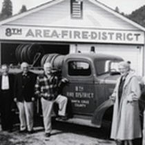 8th District Fire Truck