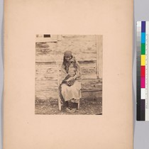 [Colville Indian woman and child.]