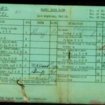 WPA block face card for household census (block 991) of 12th, Alvarado, ...