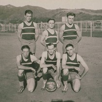The 1924-1925 Pacific Palisades boys' basketball team