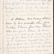 Benjamin Silliman II, letter, 1880 Mar. 26, to Faith W. Hubbard (née ...