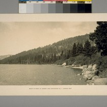 Beach in front of Donner Lake Sub-division No.1 Looking West