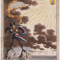 Boney's meditations on the Island of St. Helena--or--The Devil addressing the Sun