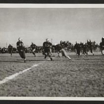 Over the line for a touchdown for Topaz in football game between ...