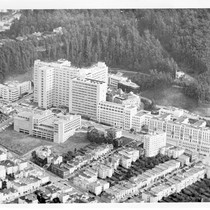 Aerial view of UCSF Medical Center, Parnassus campus