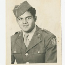 Alfred Alvarado of Los Nietos in Army Air Force uniform