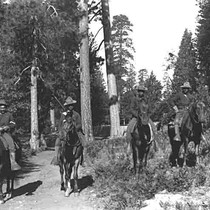24th Mounted Infantry, Yosemite