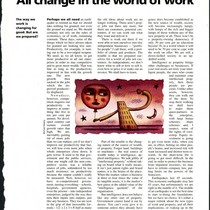 Article by Charles Handy on intelligence in the workforce