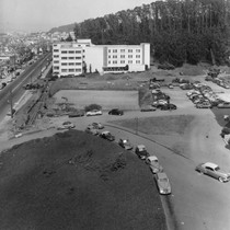 Aerial view, Langley Porter Psychiatric Institute