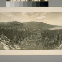 Donner Lake from Snowsheds, looking East