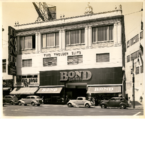 Bond Clothes, Inc. building, west side of Broadway between 14th and 15th ...