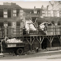 Demolishing New York City Row House, 10th Avenue