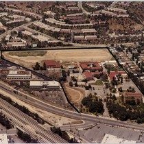 Aerial View of Burbank Campus Prior to Occupancy by Woodbury University