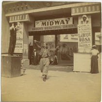 The Feature of the Midway: Akoun's Beautiful Orient, front view