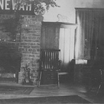 The Enewah Club room, in the Edna Watson Bailey house at UC ...