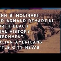 1977 John B. Molinari and Armand DeMartini, North Beach, Oral History